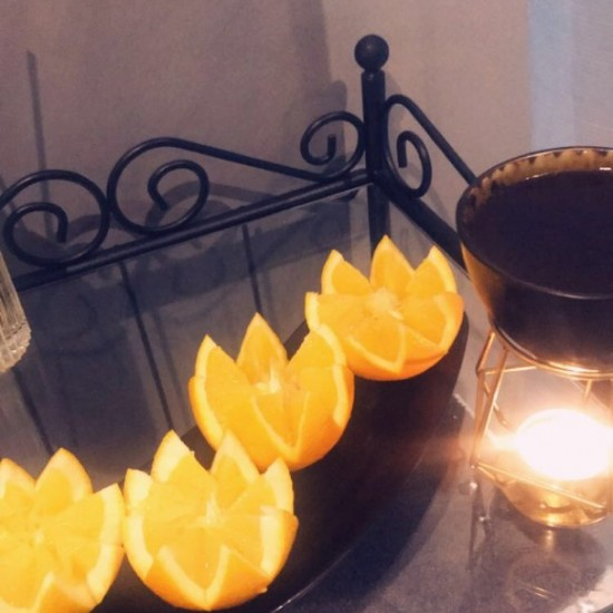 Chocolate and fresh orange SPA ritual for couple (2.p.)  (80min)