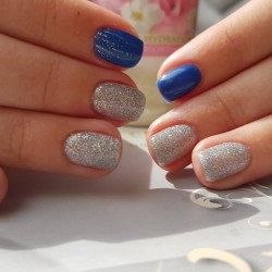 Manicure for children (with nail polish)