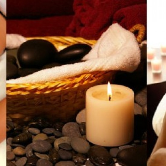 Hot stone massage for couple (2.p.) (1h 30 min)