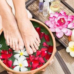 Beauty ritual - SPA pedicure + facial lymphatic drainage (2h 15 min)