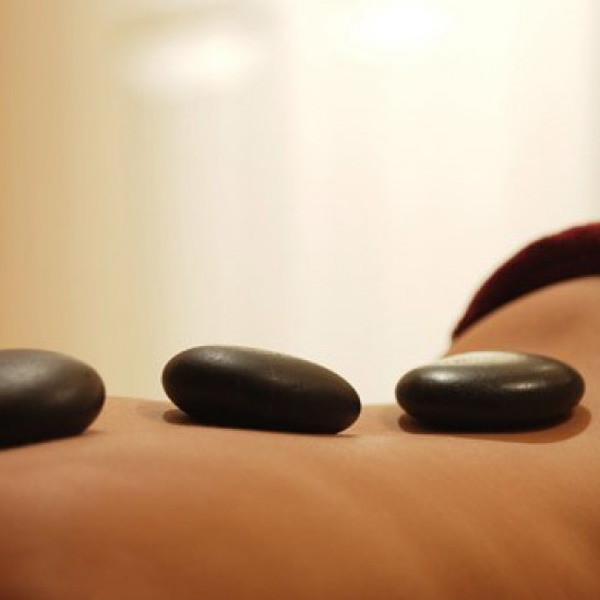Hot stone massage (1.pers.)(60 min)