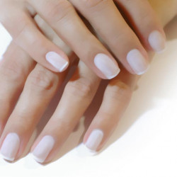 Classic manicure without lacquer