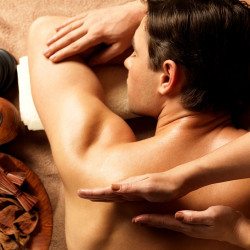 Massage for men + head and feet massage (1.p.) (80 min)