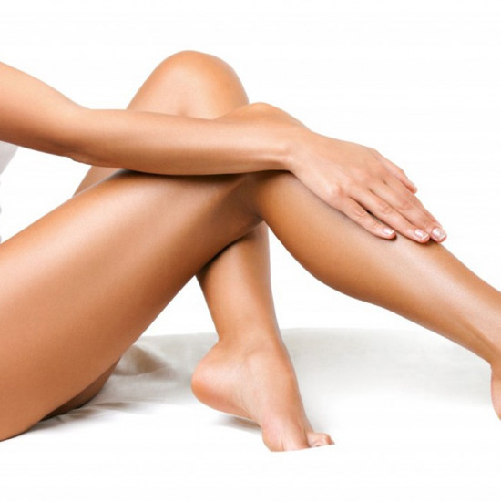 Waxing Legs to the knee