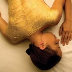 Golden SPA program for the body + golden mask for eyes (1h 30min)