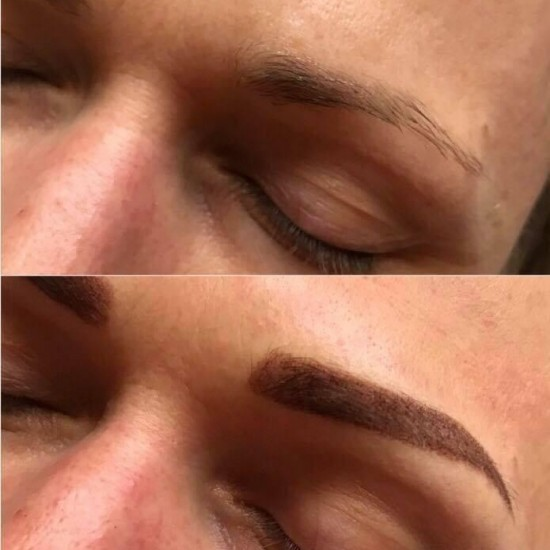 Permanent makeup - eyebrows