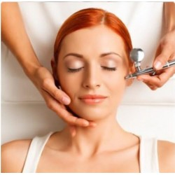 Oxygen mesotherapy for face and décolleté