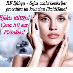 RF face lifting (Radiofrequency) (80min)